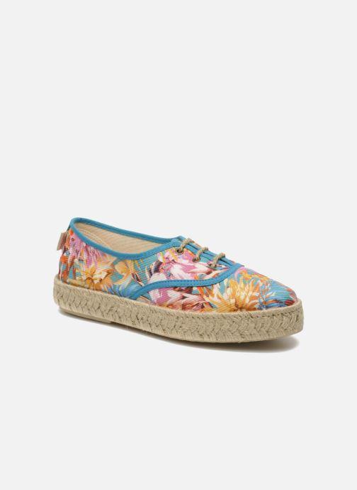 Lace-up shoes Pare Gabia Lotus toile Multicolor detailed view/ Pair view