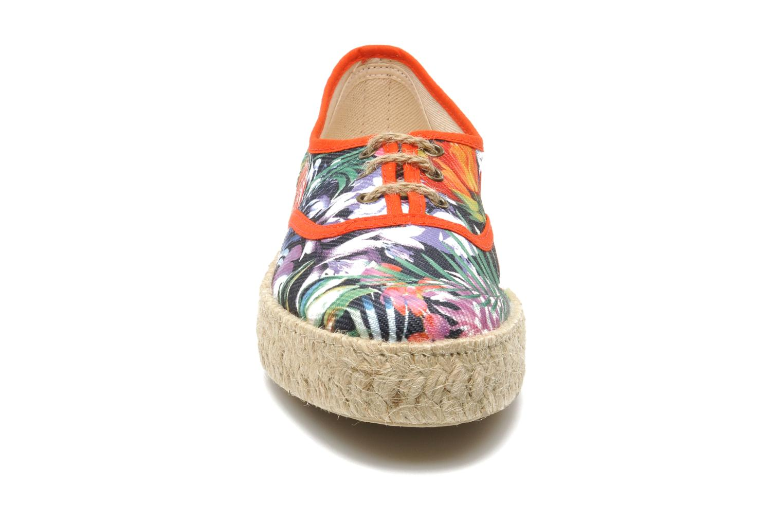 Chaussures à lacets Pare Gabia Lotus toile Multicolore vue portées chaussures