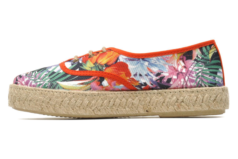 Chaussures à lacets Pare Gabia Lotus toile Multicolore vue face
