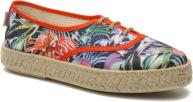 Veterschoenen Dames Lotus toile