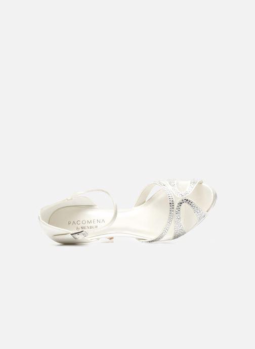 Sandales et nu-pieds Menbur Aster Blanc vue gauche