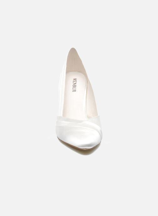 Escarpins Menbur Mare Blanc vue portées chaussures