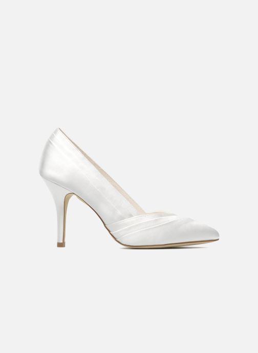 Zapatos de tacón Menbur Mare Blanco vistra trasera