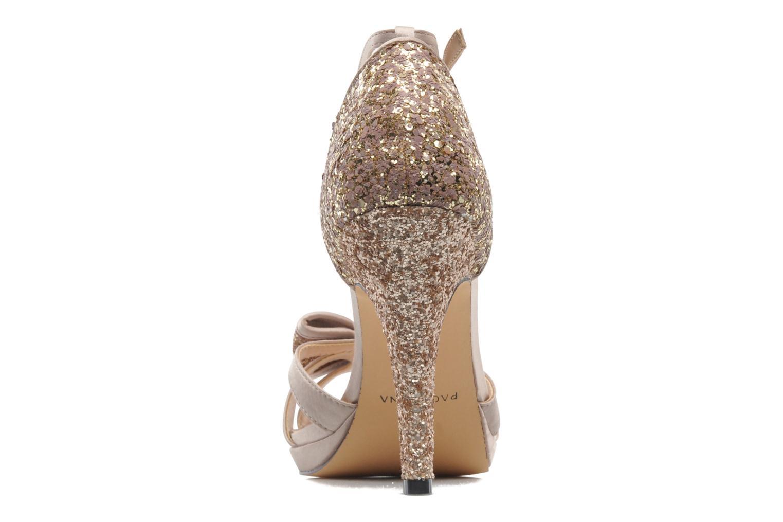 Sandales et nu-pieds Menbur Balsamine Beige vue droite