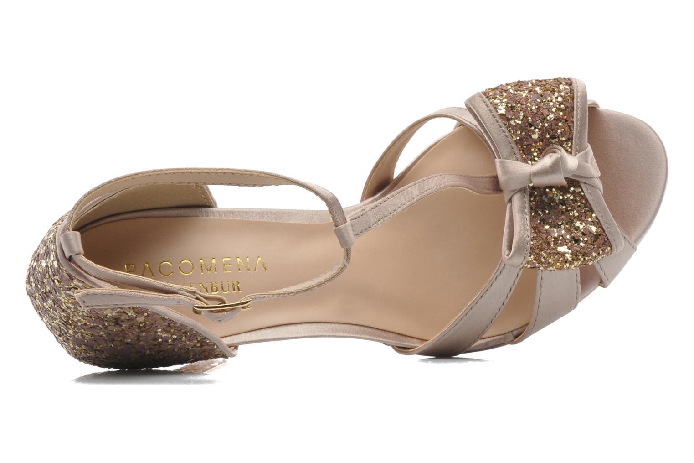 Sandales et nu-pieds Menbur Balsamine Beige vue gauche