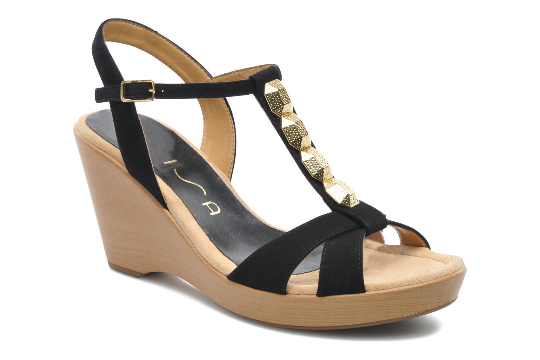 Sandales et nu-pieds Unisa Rony Noir vue détail/paire