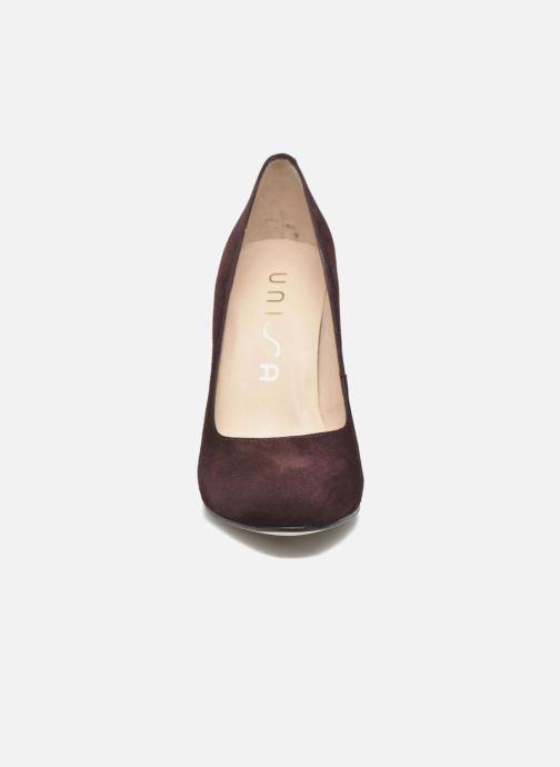 Escarpins Unisa Patric Bordeaux vue portées chaussures