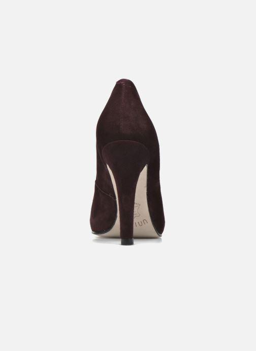 Zapatos de tacón Unisa Patric Vino vista lateral derecha