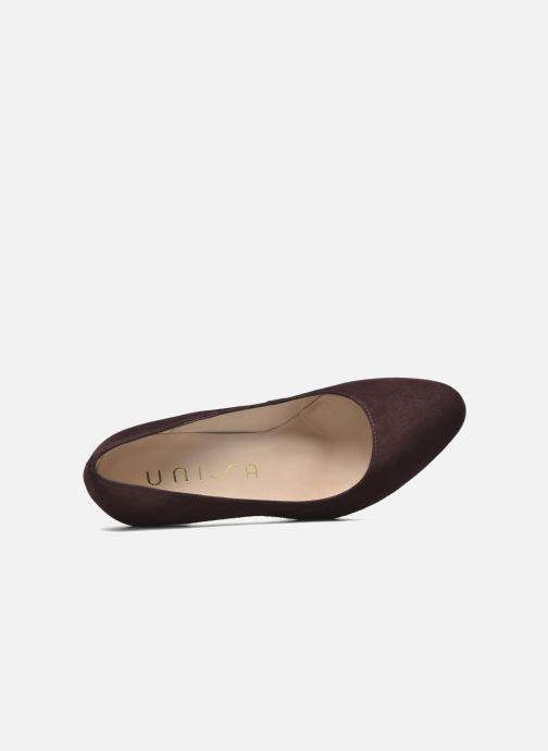 Zapatos de tacón Unisa Patric Vino vista lateral izquierda