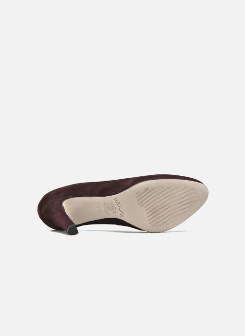 Zapatos de tacón Unisa Patric Vino vista de arriba
