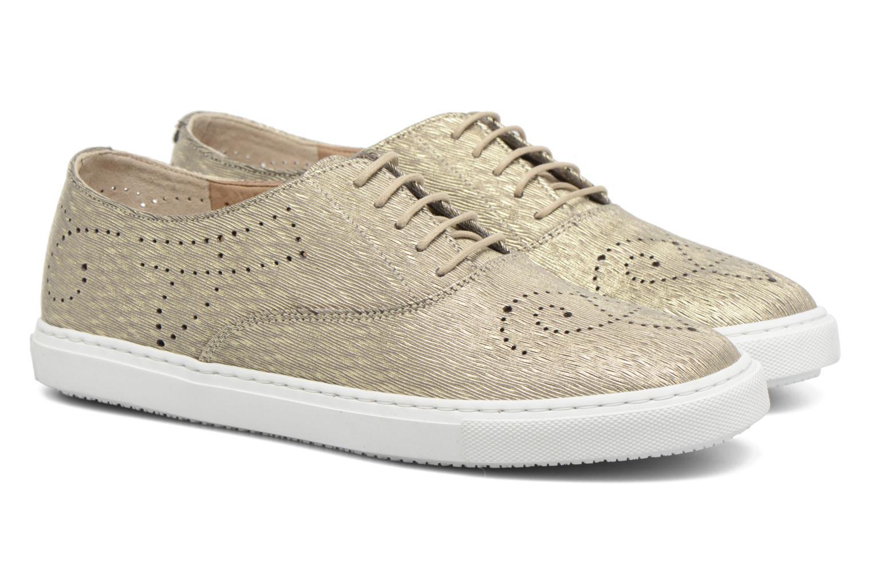 Chaussures à lacets Fratelli Rossetti Lou Or et bronze vue 3/4