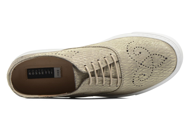 Chaussures à lacets Fratelli Rossetti Lou Or et bronze vue gauche