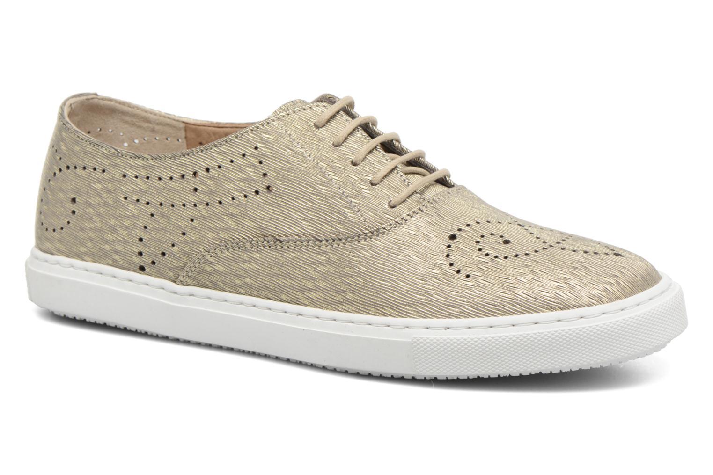Chaussures à lacets Fratelli Rossetti Lou Or et bronze vue détail/paire