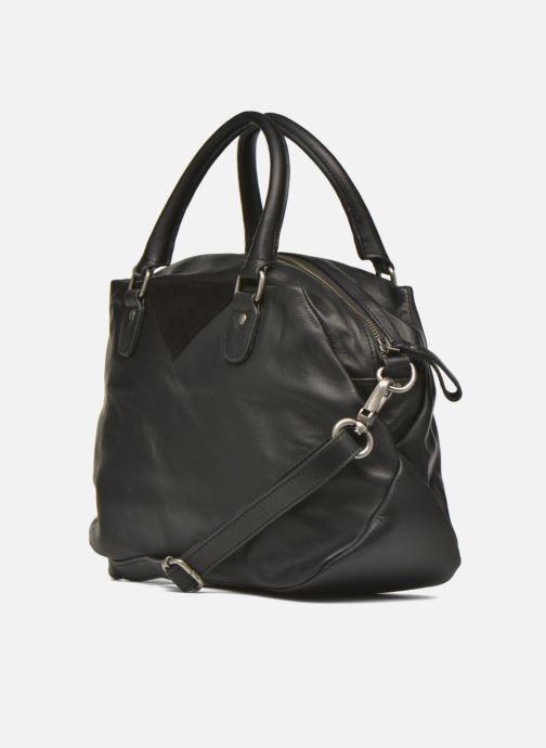 Handtaschen Nat & Nin Heleen schwarz ansicht von rechts