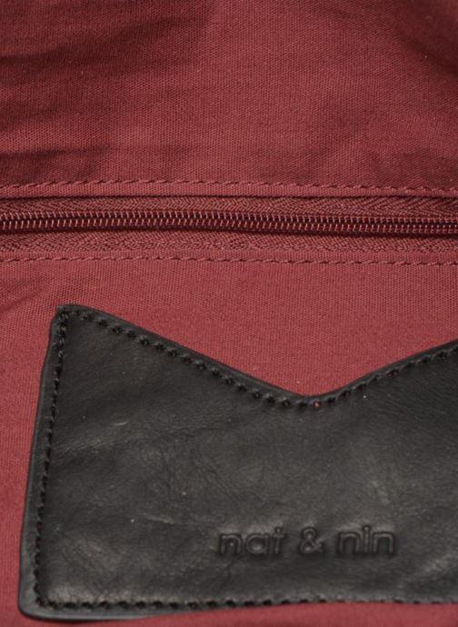 Handtaschen Nat & Nin Heleen schwarz ansicht von hinten