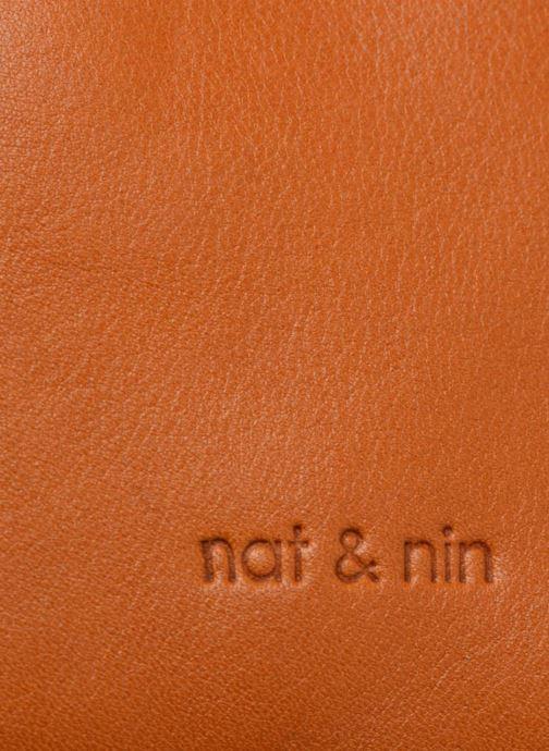 Sacs à main Nat & Nin Heleen Marron vue derrière
