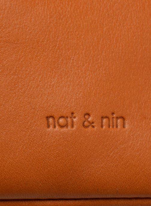 Sacs à main Nat & Nin Heleen Marron vue gauche
