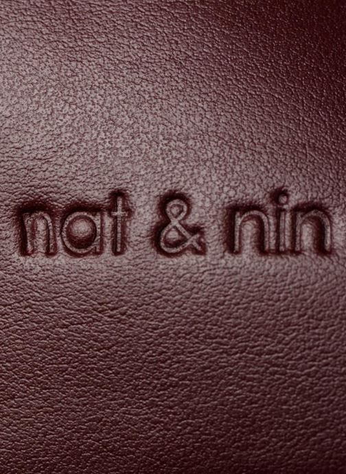 Sacs à main Nat & Nin Heleen Bordeaux vue gauche