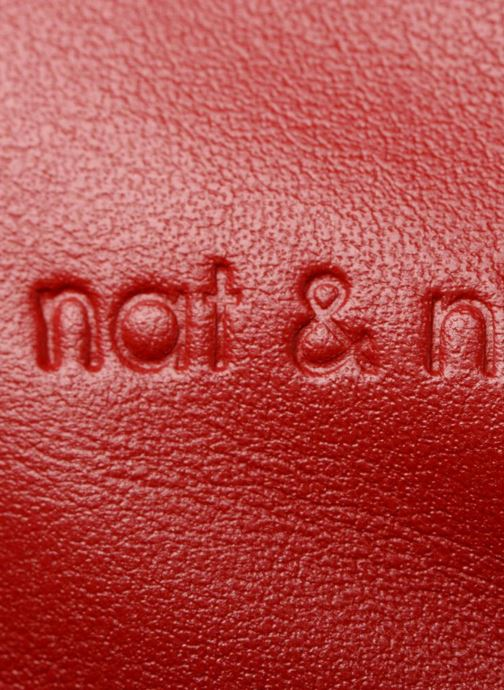 Sacs à main Nat & Nin Heleen Rouge vue gauche