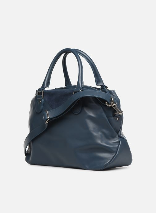 Handbags Nat & Nin Heleen Blue view from the right