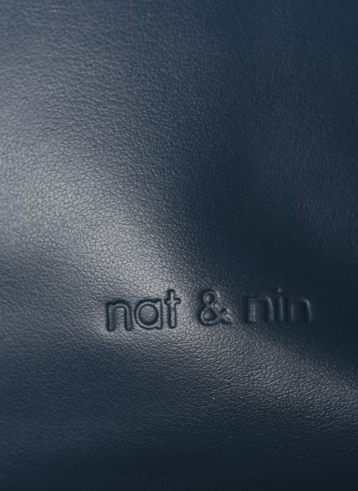 Sacs à main Nat & Nin Heleen Bleu vue gauche