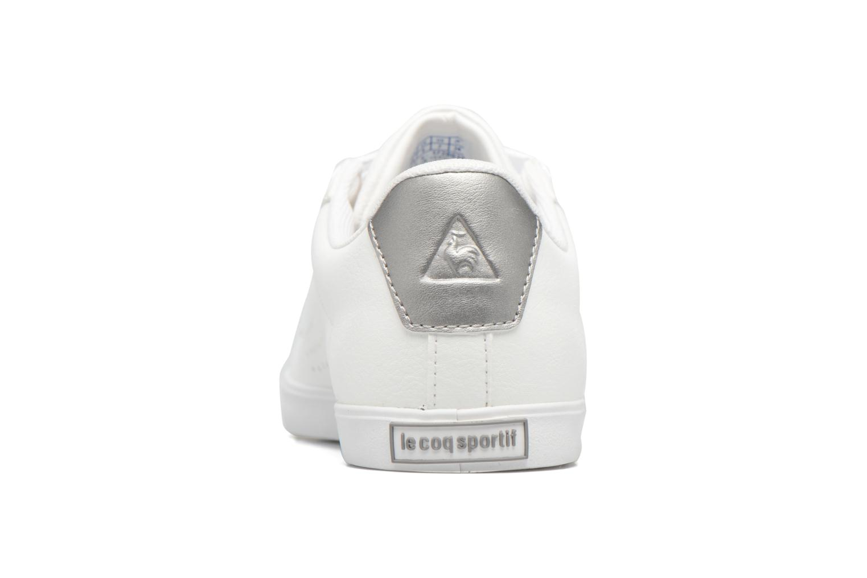 Baskets Le Coq Sportif Agate LO S Blanc vue droite