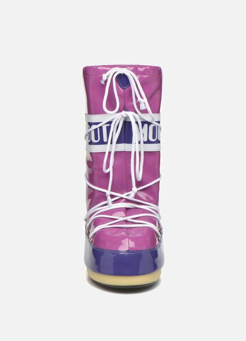Scarpe sportive Moon Boot Vinil E Viola modello indossato