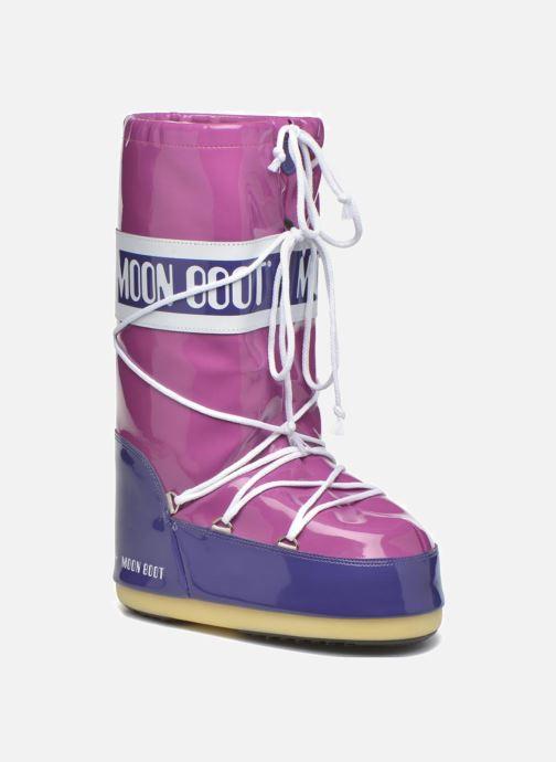 Chaussures de sport Moon Boot Vinil E Violet vue détail/paire