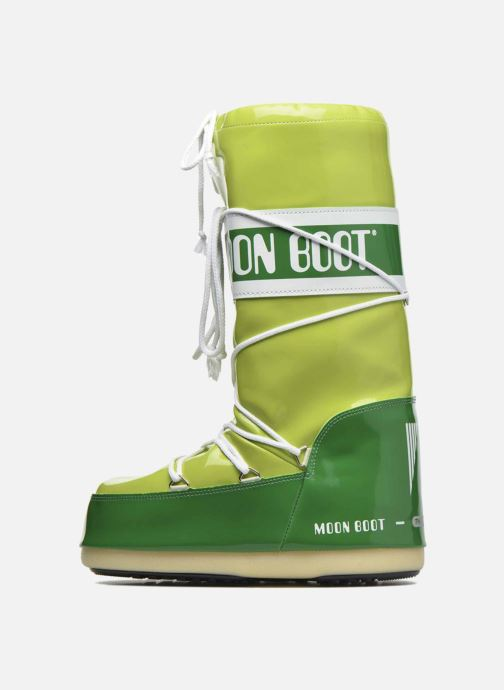 Zapatillas de deporte Moon Boot Vinil E Verde vista de frente