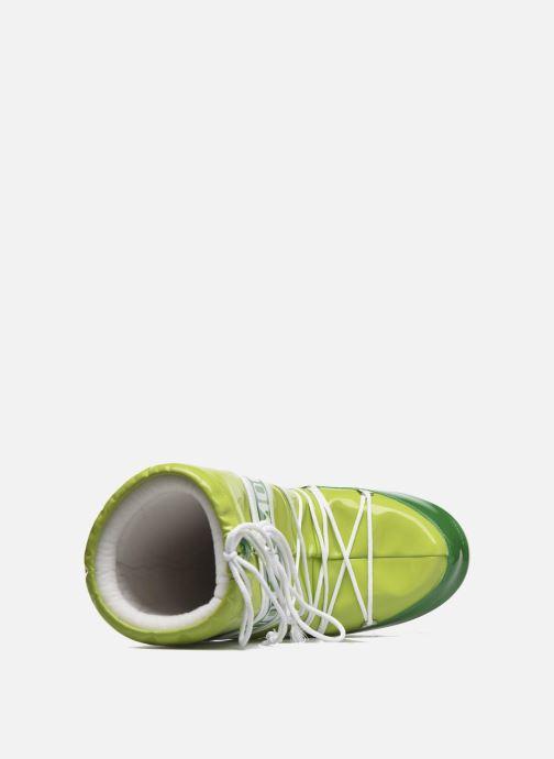 Zapatillas de deporte Moon Boot Vinil E Verde vista lateral izquierda