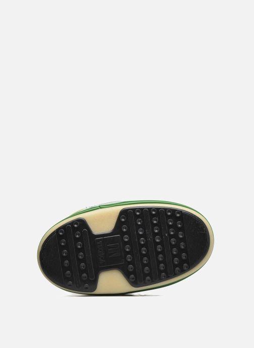 Chaussures de sport Moon Boot Vinil E Vert vue haut
