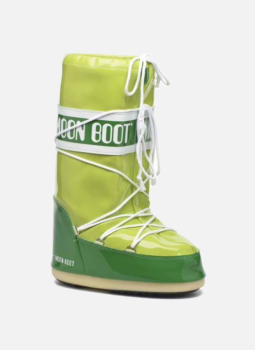 Chaussures de sport Moon Boot Vinil E Vert vue détail/paire