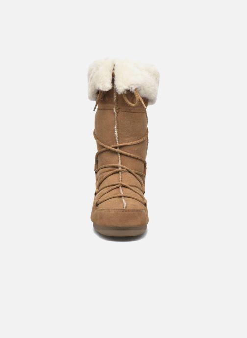 Bottines et boots Moon Boot Vagabond High Marron vue portées chaussures