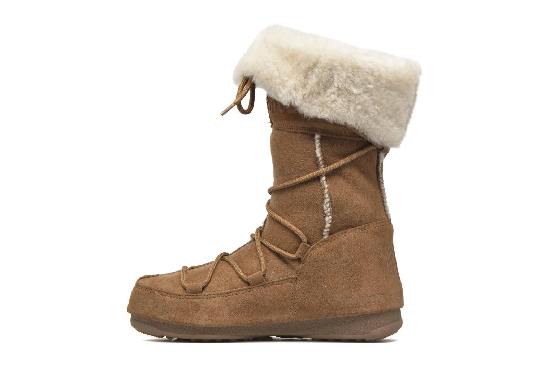 Bottines et boots Moon Boot Vagabond High Marron vue face