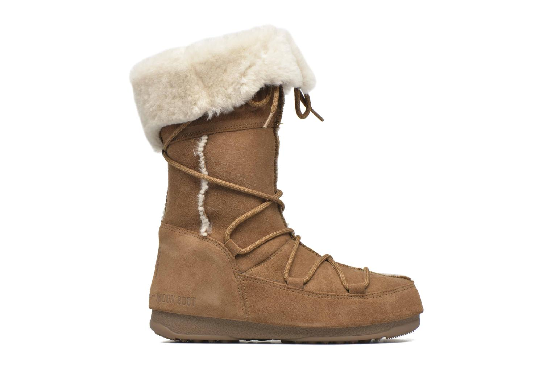 Bottines et boots Moon Boot Vagabond High Marron vue derrière
