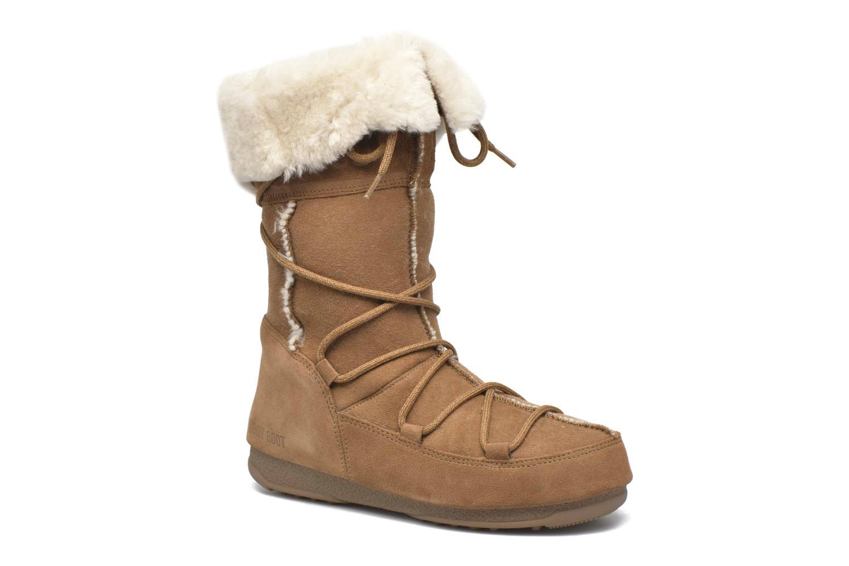 Bottines et boots Moon Boot Vagabond High Marron vue détail/paire