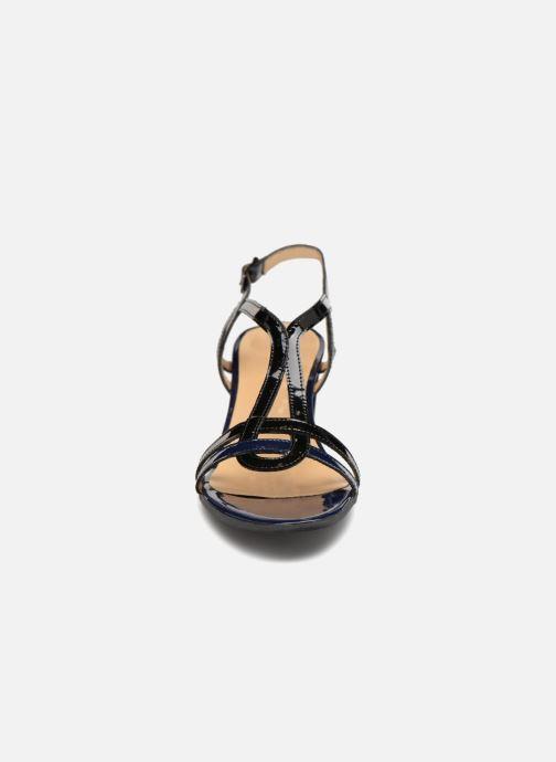 Sandalen Perlato Pandora blau schuhe getragen