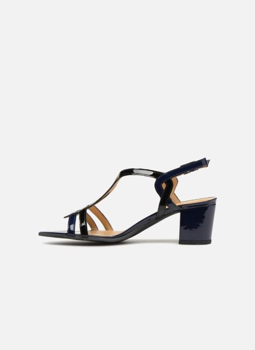 Sandalen Perlato Pandora blau ansicht von vorne
