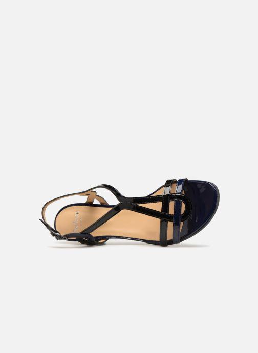 Sandalen Perlato Pandora blau ansicht von links