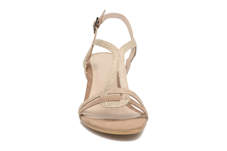 Sandales et nu-pieds Perlato Pandora Beige vue portées chaussures