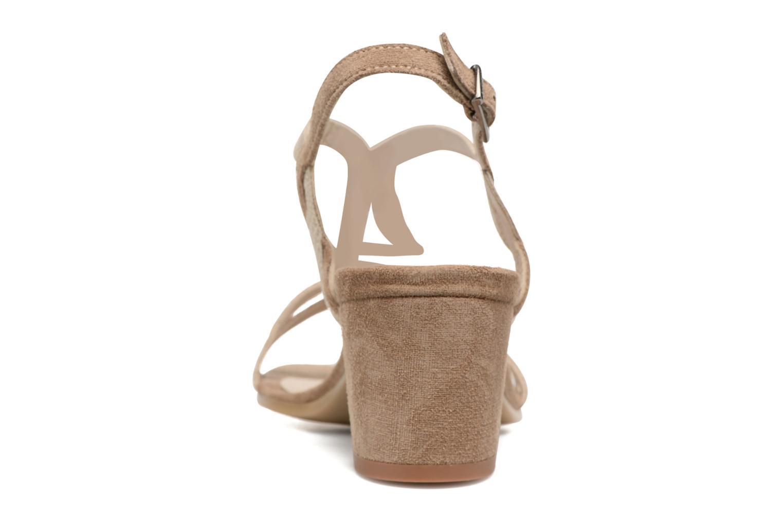 Sandales et nu-pieds Perlato Pandora Beige vue droite