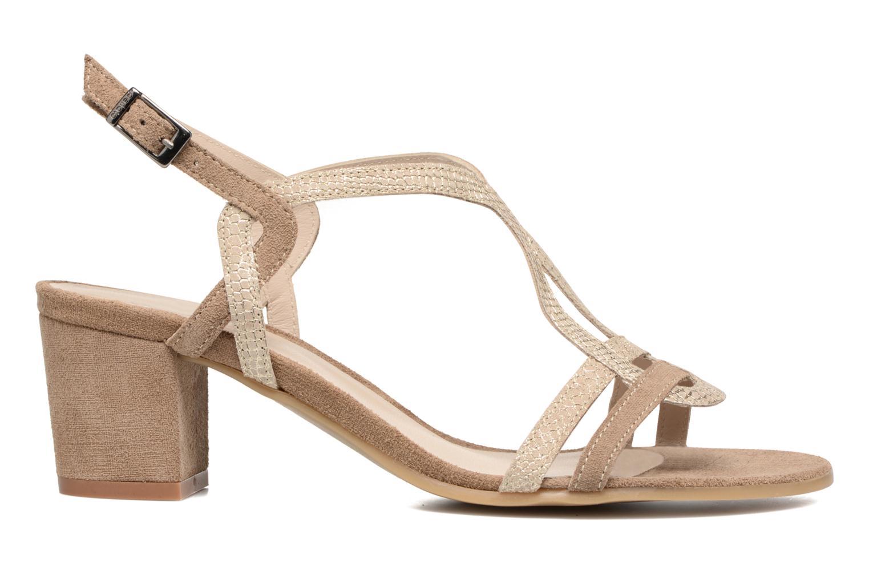 Sandales et nu-pieds Perlato Pandora Beige vue derrière