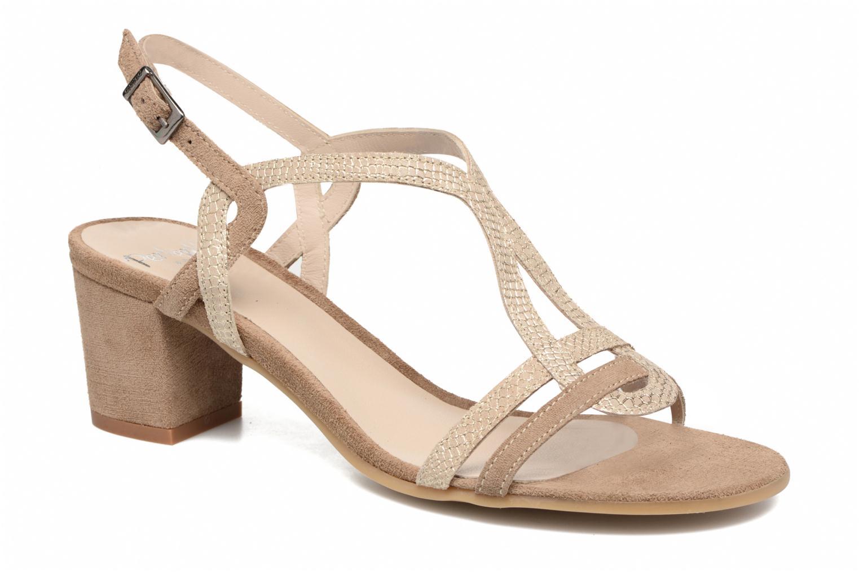 Sandales et nu-pieds Perlato Pandora Beige vue détail/paire