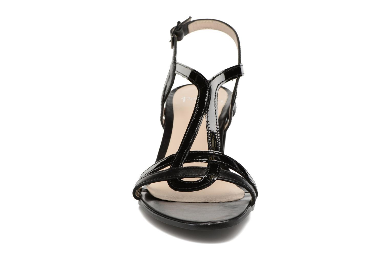 Sandales et nu-pieds Perlato Pandora Noir vue portées chaussures
