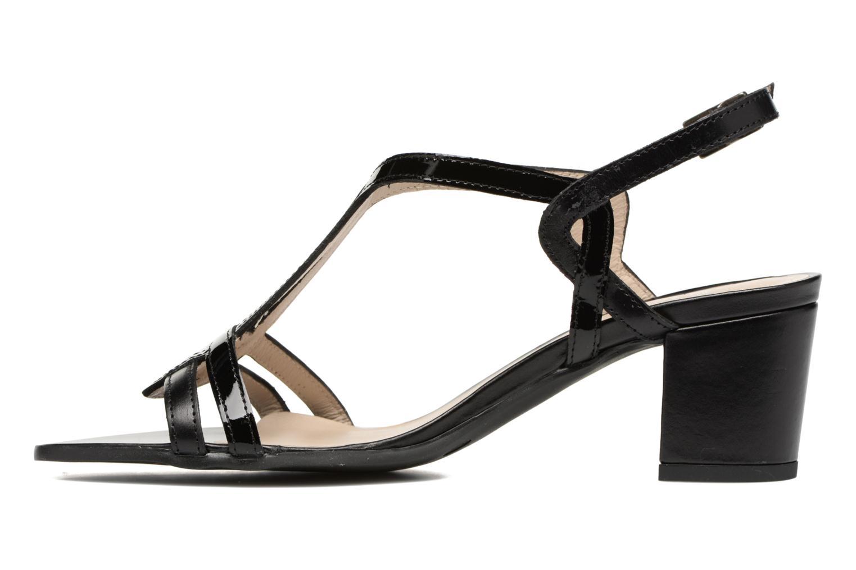 Sandales et nu-pieds Perlato Pandora Noir vue face