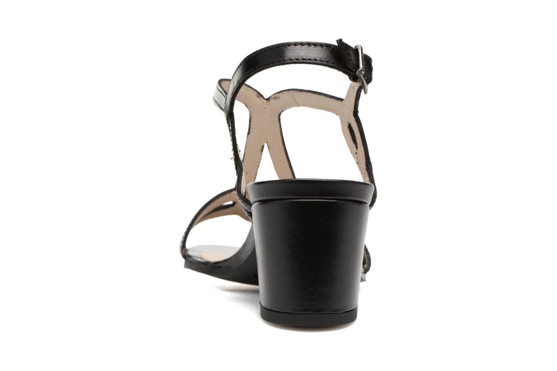 Sandales et nu-pieds Perlato Pandora Noir vue droite