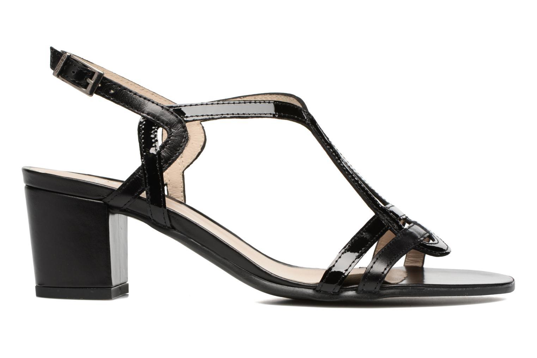 Sandales et nu-pieds Perlato Pandora Noir vue derrière