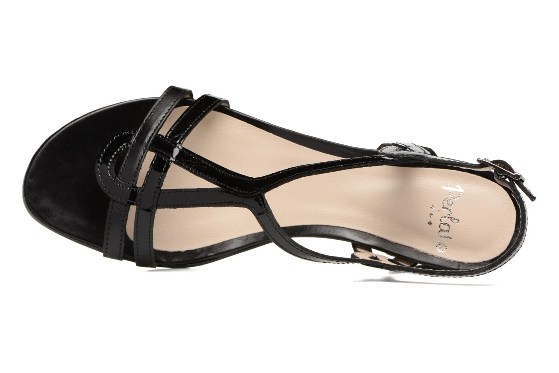 Sandales et nu-pieds Perlato Pandora Noir vue gauche