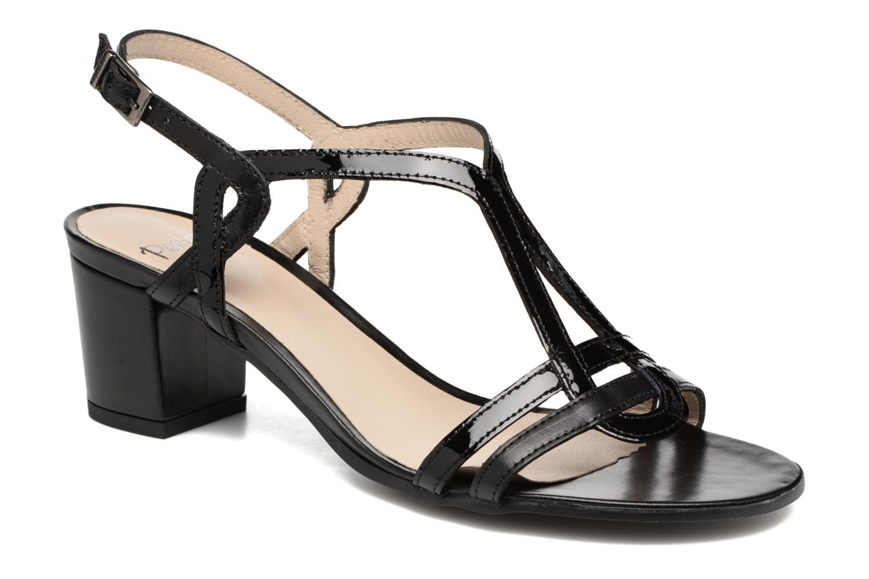 Sandales et nu-pieds Perlato Pandora Noir vue détail/paire