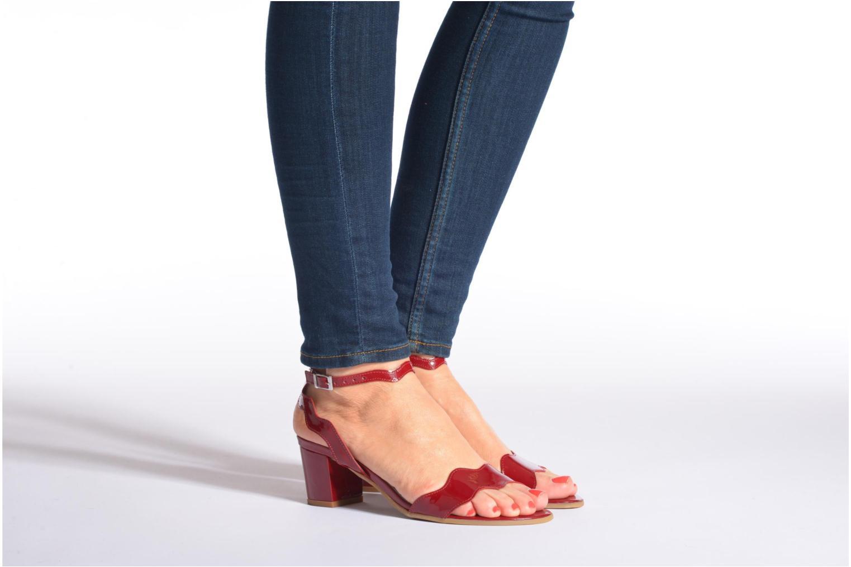 Sandaler Perlato Paz Sort se forneden